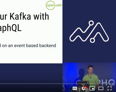 Screenshot Open Web - Evenement - Gastspreker - Gerard Klijs - GraphQL - GraphQLSummit - San Francisco